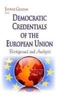 Democratic Credentials of the European Union: Background and Analysis
