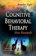 Cognitive Behavioral Therapy: New Research