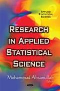 Research in Applied Statistical Science