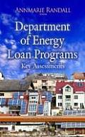 Department of Energy Loan Programs