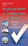 Acquisition Reform at the Department of Defense