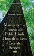 Management of Forests and Public Lands Through the Lens of Ecosystem Services