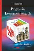 Progress in Economics Researchvolume 30