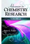 Advances in Chemistry Researchvolume 24