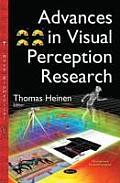 Advances in Visual Perception Research
