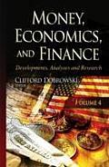 Money, Economics & Finance: Developments, Analyses & Research