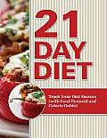 21 Day Diet: Track Your Diet Success (with Food Pyramid and Calorie Guide)