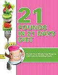 21 Pounds in 21 Days Diet: Record Your Weight Loss Progress (with Calorie Counting Chart)
