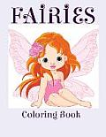 Fairies: Coloring Book