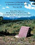 Cemeteries & Remote Burials In Larimer County, Colorado, Volume III: Estes Park Area & Rocky Mountain... by Susan B. Kniebes