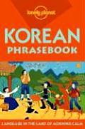 Lonely Planet Korean Phrasebook 3rd Edition