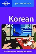 Korean Phrasebook (Lonely Planet Phrasebook: Korean)