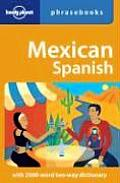 Mexican Spanish Phrasebook 1ST Edition