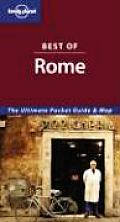 Lonely Planet Best Of Rome 3rd Edition
