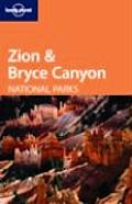 Lonely Planet Zion & Bryce Canyon 1ST Edition Cover