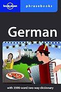German Phrasebook (Lonely Planet Phrasebook: German)