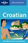 Lonely Planet Croatian Phrasebook 1ST Edition