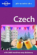 Czech Phrasebook 2ND Edition Cover
