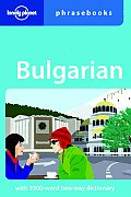 Bulgarian Phrasebook (Lonely Planet Phrasebook: Bulgarian) Cover
