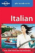 Lonely Planet Italian Phrasebook (Lonely Planet Phrasebook: Italian)