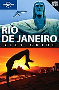 Lonely Planet Rio de Janeiro City Guide [With Map] (Lonely Planet Rio de Janerio) Cover
