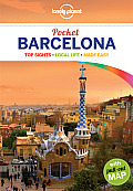 Lonely Planet Pocket Barcelona [With Pull-Out Map] (Lonely Planet Pocket Guide Barcelona)
