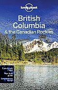 Lonely Planet British Columbia & the Yukon 5th Edition