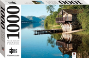 Boathouse 1000 Piece Jigsaw Puzzle