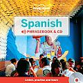 Spanish Phrasebook and Audio CD (Lonely Planet Phrasebook: Spanish)