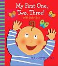 My First One, Two, Three! With Baby Boo Counting Book