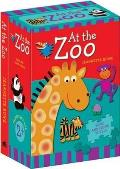 At the Zoo Book and Floor Puzzle