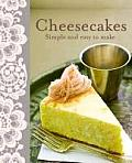 Cheesecakes: Simple and Easy to Make Cover