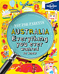 Lonely Planet Not for Parents Australia