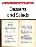 Desserts and Salads - The Original Classic Edition