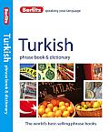 Berlitz Turkish Phrase Book & Dictionary (Phrase Book) Cover