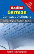 Berlitz German Compact Dictionary: German-English/Englisch-Deutsch (Berlitz Compact Dictionary)