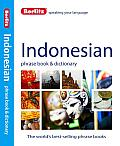Berlitz Indonesian Phrase Book and Dictionary (Berlitz Phrase Book &amp; Dictionary: Indonesian) Cover