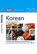 Berlitz Korean Phrase Book & CD [With Phrase Book]