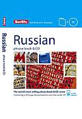 Berlitz Russian Phrase Book & CD [With Phrase Book] (Berlitz Phrase Book & CD)