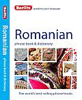 Berlitz Romanian Phrase Book & Dictionary (Berlitz Phrase Book & Dictionary: Romanian)