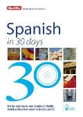 Berlitz Spanish in 30 Days (In 30 Days)