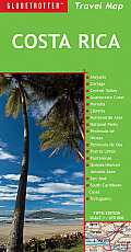 Costa Rica Travel Map (Globetrotter Travel Maps)