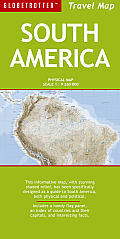 Globetrotter South America Travel Map