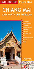 Chiang Mai and Northern Thailand Travel Map (Globetrotter Travel Maps) Cover