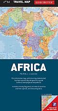 Africa Travel Map (Globetrotter Travel Map)