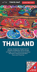 Thailand Travel Map, 10th (Globetrotter Travel Map)