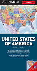 United States of America Travel Map, 2nd (Globetrotter Travel Map)
