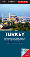 Turkey Travel Map, 7th (Globetrotter Travel Map)