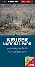 Kruger National Park Travel Map, 7th (Globetrotter Travel Map)