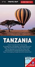 Tanzania Travel Map, 6th (Globetrotter Travel Map)